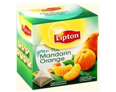 Липтон ЗЕЛ АРОМАТ MANDARIN ORANGE TEA C ЦЕДРОЙ ЦИТРУСОВЫХ(20ПX1.8Г)
