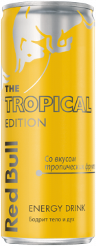Ред Булл Тропик 0,25л./24шт. Red Bull Tropical Edition