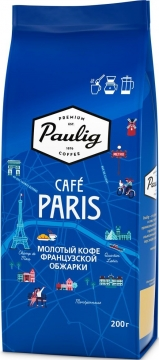 Паулиг Coffee City Кофе Paulig Cafe Paris 12x200г мол пачка Паулиг